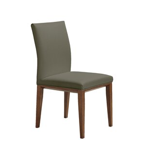 Fort Worth Genuine Leather Upholstered Di..