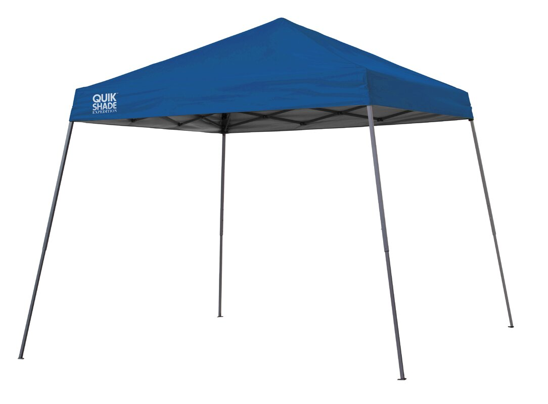 Quik Shade 10 Ft. W x 10 Ft. D Steel Pop-Up Canopy  sc 1 st  Wayfair & QuikShade Quik Shade 10 Ft. W x 10 Ft. D Steel Pop-Up Canopy ...