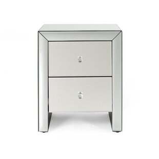 Mattern Modern Mirrored 2 Drawer Accent Chest by House of Hampton