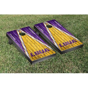 Victory Tailgate NAIA Triangle Weathered Version Cornhole Game Set