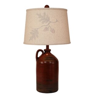 Ralph Autumn 1 Handle Pottery Jug 28 Table Lamp