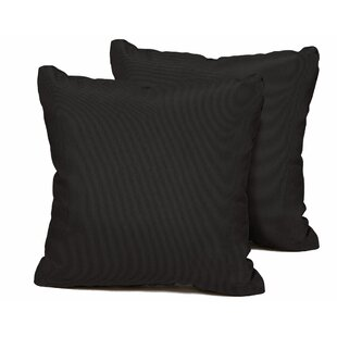Ontiveros Square Outdoor Throw Pillow (Set Of 2)