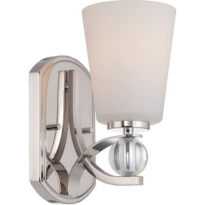 Gace 1-Light Bath Sconce  sc 1 st  Wayfair & Bathroom Vanity Lighting azcodes.com