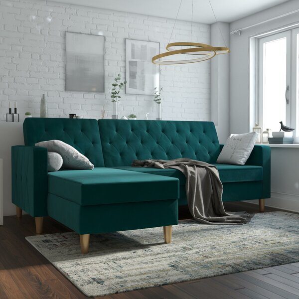 Miraculous Sage Green Sectional Sofas Wayfair Bralicious Painted Fabric Chair Ideas Braliciousco