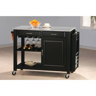 Cottonwood Kitchen Island with Granite Top