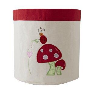 Check Prices Alphabet Adventure Mushroom Toy Storage Bin ByThe Little Acorn
