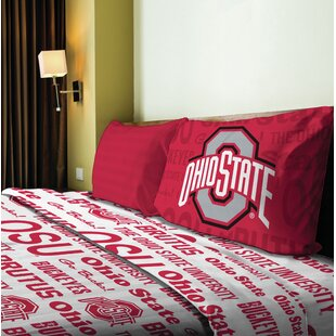 NCAA Microfiber Sheet Set
