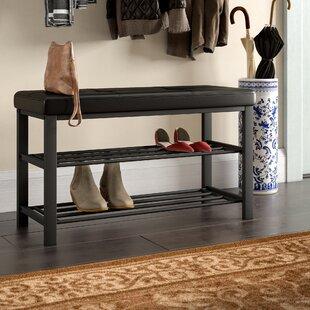 Kolten Entryway Upholstered Storage Bench by Winston Porter