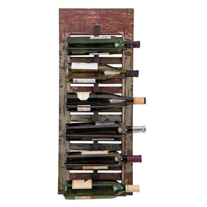 Distressed Shutter 6 Bottle Tabletop Wine Rack by Foreside Home & Garden