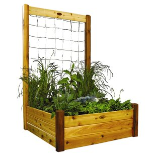 Gronomics Wood Lattice Panel Trellis
