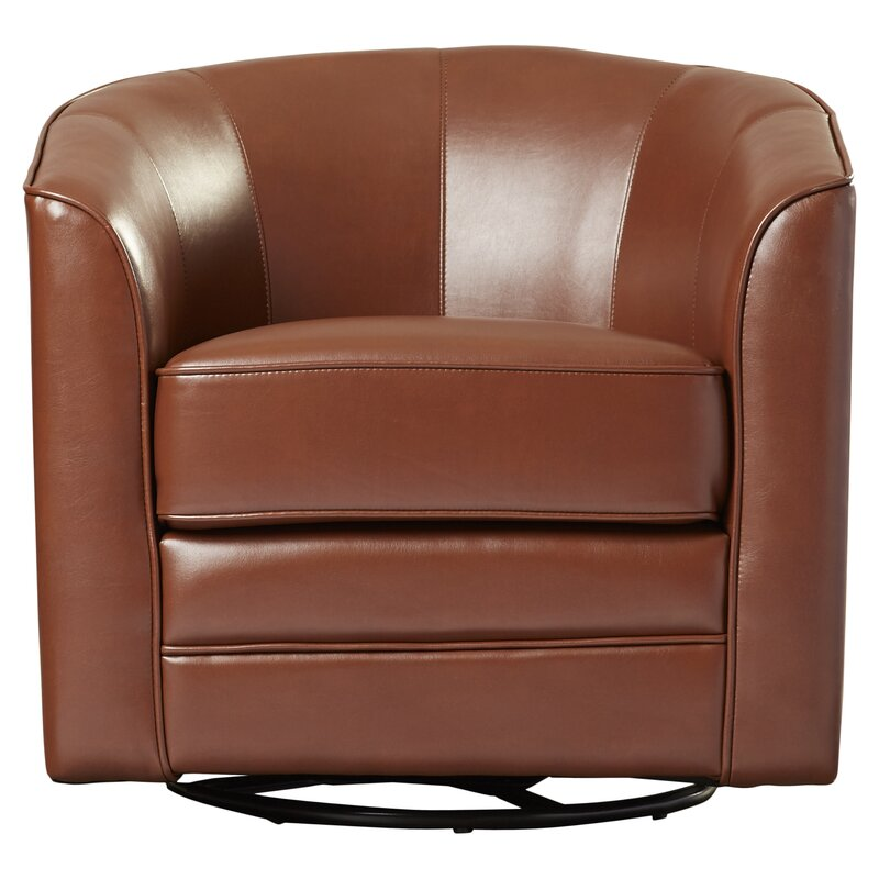 Morefield Swivel Barrel Chair & Reviews   AllModern