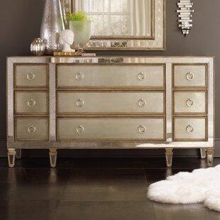 Hooker Furniture Sanctuary 9 Drawer Dresser