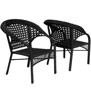 Wicker Club Chair (Set of 2) by Home Loft Concepts