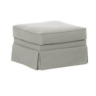 Wayfair Custom Upholstery™ Foote Skirted Ottoman