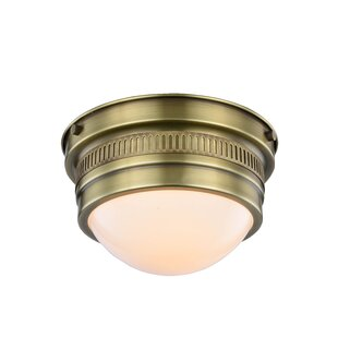 Darby Home Co Tripoli 1-Light Flush Mount