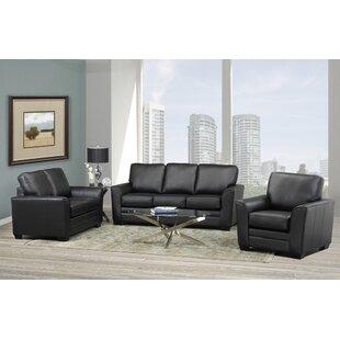 Orren Ellis Toolsie 3 Piece Living Room Set