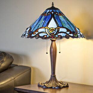 Amboy Stained Glass Brandi 25.5 Table Lamp