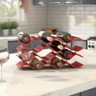 Bellas 12 Bottle Countertop Wine Bottle R..