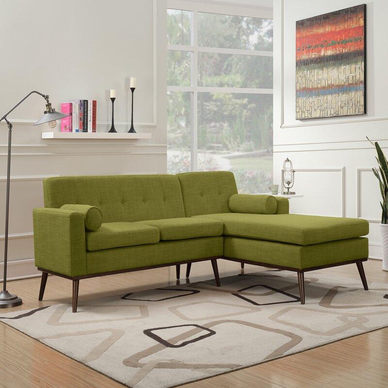 Charmant Charlcombe Mid Century Modern Modular Sectional Sofa