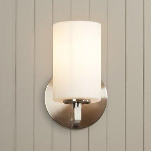 Listermann 1-Light Bath Sconce by Red Barrel Studio