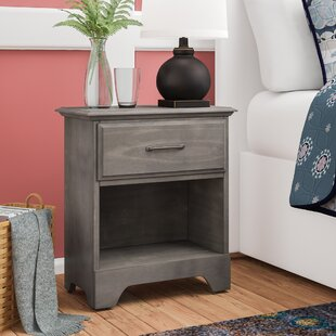 Ciara 1 Drawer Nightstand by Grovelane Teen