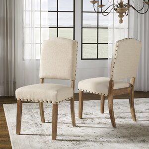 Brilliant Lark Manor Pompon Nailhead Side Chair Set Of 2 Pakwai Andrewgaddart Wooden Chair Designs For Living Room Andrewgaddartcom