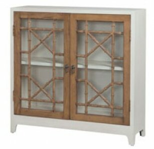 Desota Bamboo 2 Door Accent Cabinet by Bay Isle Home