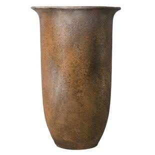 Tall Fiberstone Pot Planter