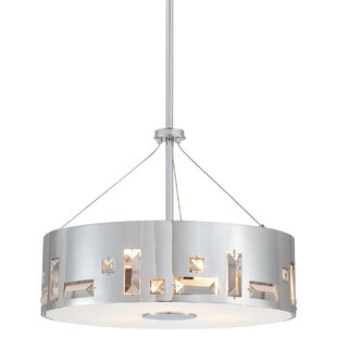 Everly Quinn Khoa 4-Light Pendant