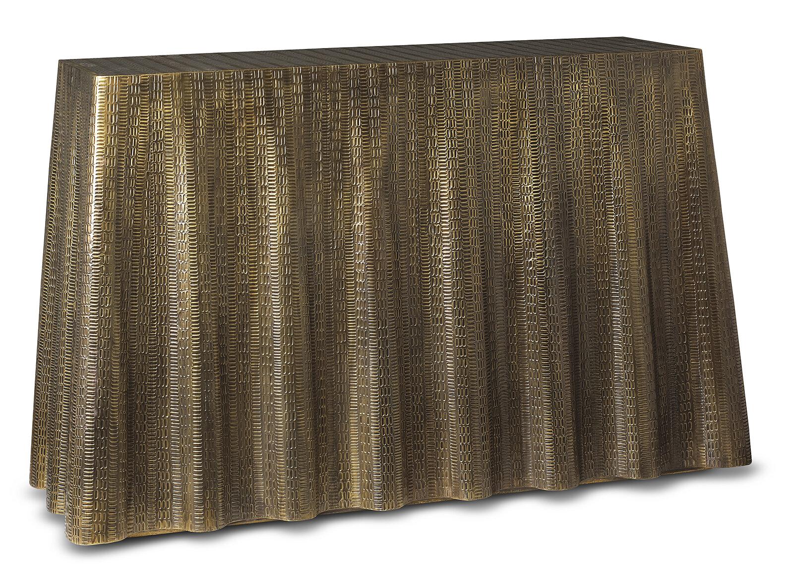 Brownstone Furniture Bijou Drape Console Table Wayfair
