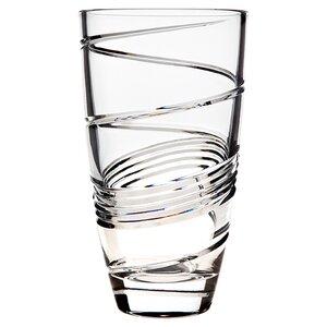 Spirale Crystal Vase