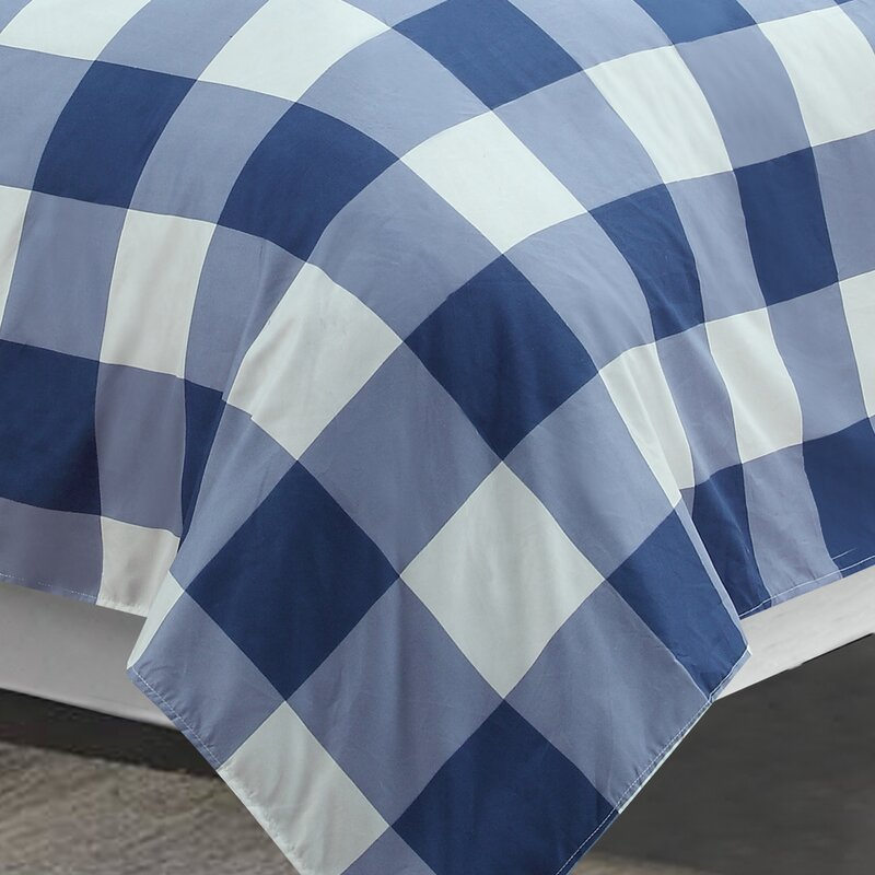 Gracie Oaks Boscombe Blue Printed Sheet Set Reviews Wayfair
