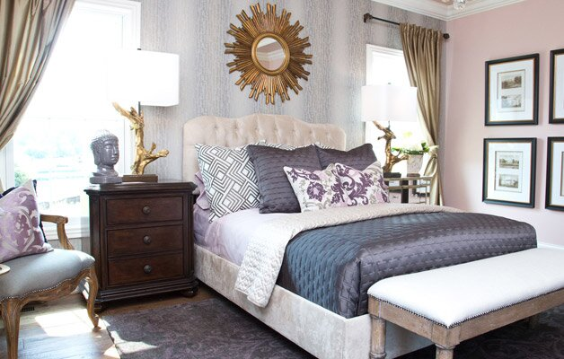 Interior New Bedroom a glam new bedroom for 400 wayfair photo lla interior design