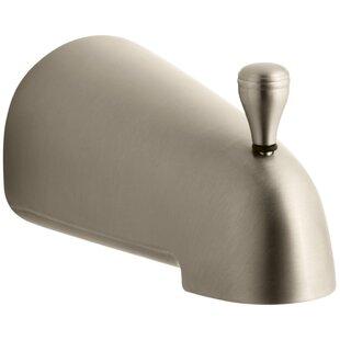 Devonshire Raphael 4-7/16 Diverter Bath Spout with Slip-Fit Connection By Kohler