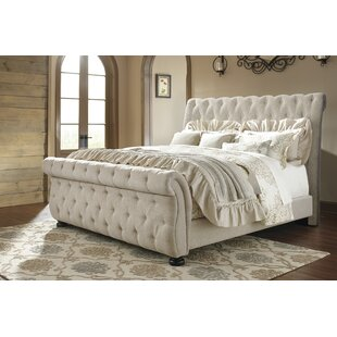 Clearance Ballwin Upholstered Sleigh Bed by Greyleigh Reviews (2019) & Buyer's Guide