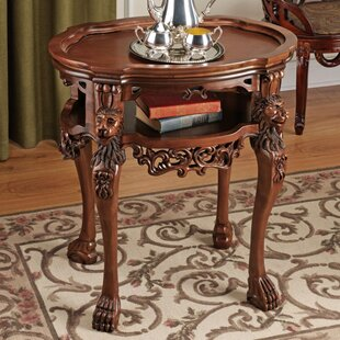Lord Raffles Lion End Table