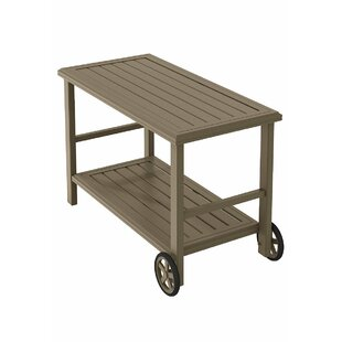 Banchetto Bar Serving Cart