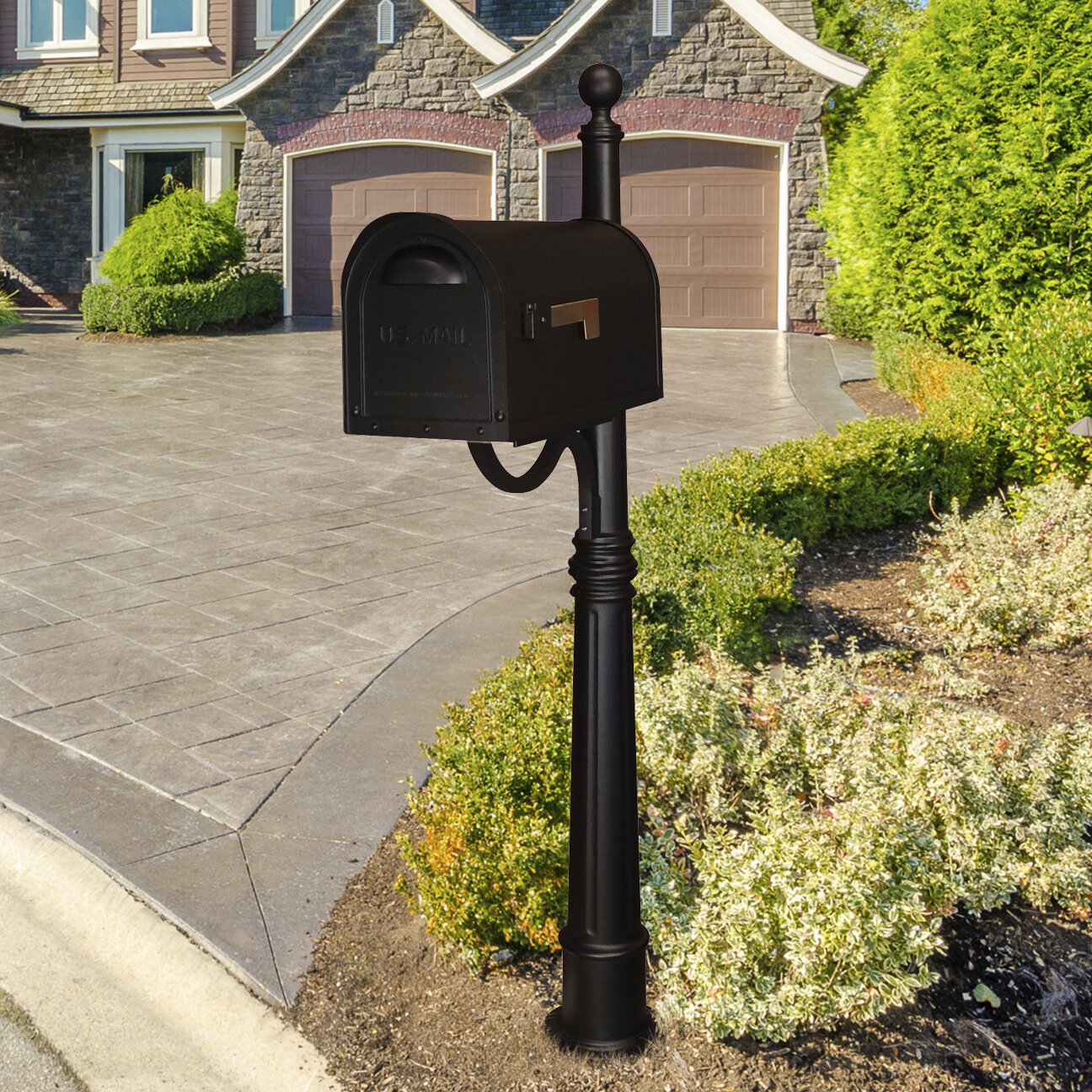 Special Lite Products Classic Mailbox With Post Included Reviews Wayfair