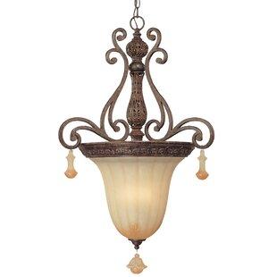 Classic Lighting Riviera 3-Light Urn Pend..