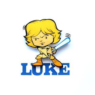 3D Light FX 3D Luke Mini Deco 2-Light Night Light