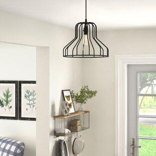 Radka Modern Metal Indoor 1-Light Inverted Pendant by Gracie Oaks