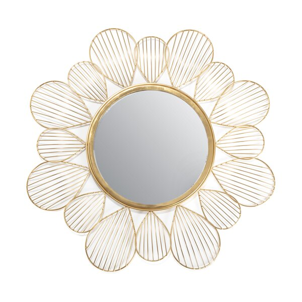 Petal Mirror Wayfair
