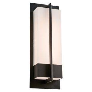 Orren Ellis Alleman LED Outdoor Flush Mount