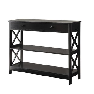 black console sofa tables joss main rh jossandmain com black sofa table walmart black sofa table with glass top