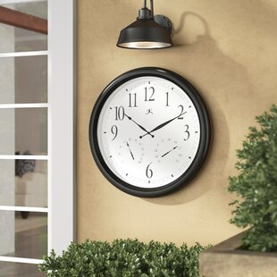Best Ernesha Oversized 24 Definitive Wall Clock by Darby Home Co