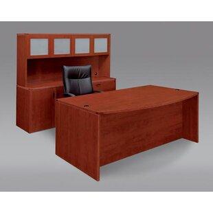 Flexsteel Contract Fairplex 3-Piece Standard Desk Office Suite