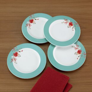 Chirp Dessert Plate Set (Set of 4)