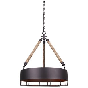 Williston Forge Charlyn 4-Light Pendant