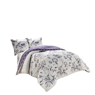 Christensen Cotton 3 Piece Reversible Comforter Set