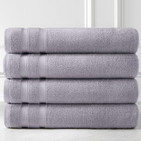 Southshore Premium Quality 4 Piece 100 Cotton Bath Towel Set Reviews Joss Main